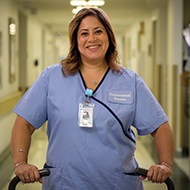 Anna Ruiz, HealthAlliance Hospital Caregiver
