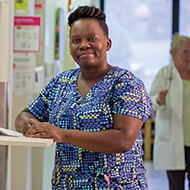 Consolee Numukobwa, UMass Memorial Medical Center Caregiver