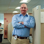 Jason Wilder, UMass Memorial Medical Center Caregiver