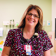 Mary Simpson, RN, Marlborough Hospital, Caregiver