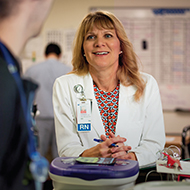 Stacey Anderson, Marlborough Hospital Caregiver
