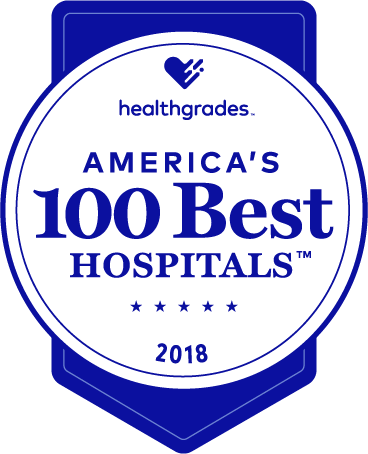 Healthgrades America's best hospital award