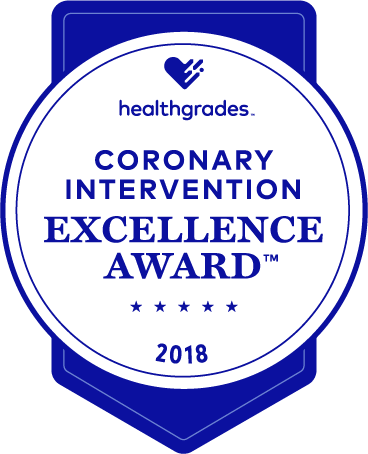 Coronary Excellence Award Healthgrades