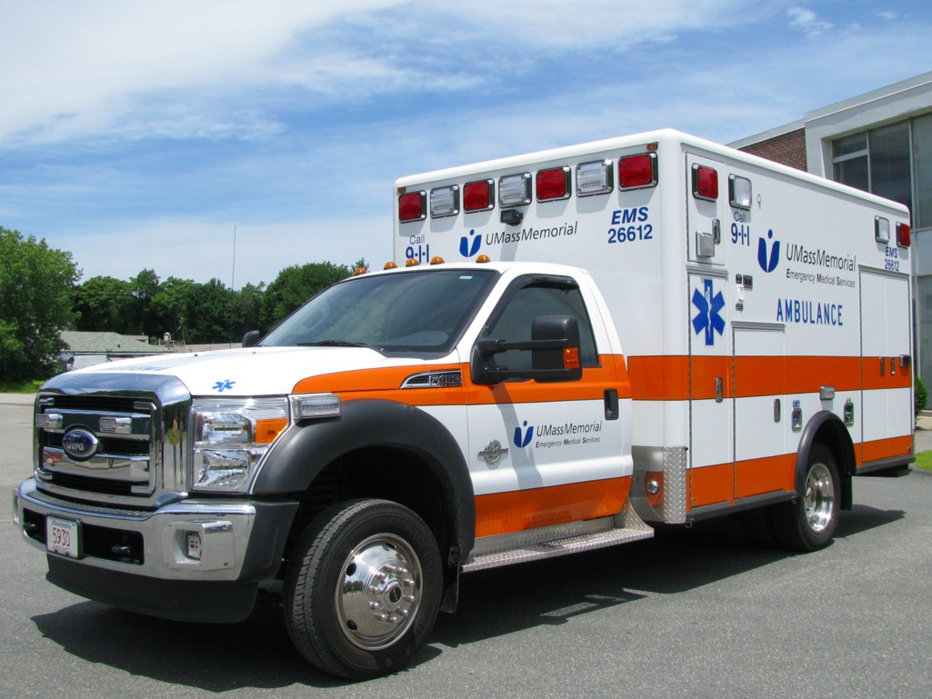 UMass Memorial Ambulance