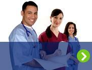 Smiling cardiac surgeons and nurses are shown.