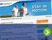 MSK-Stay In Motion Newsletter