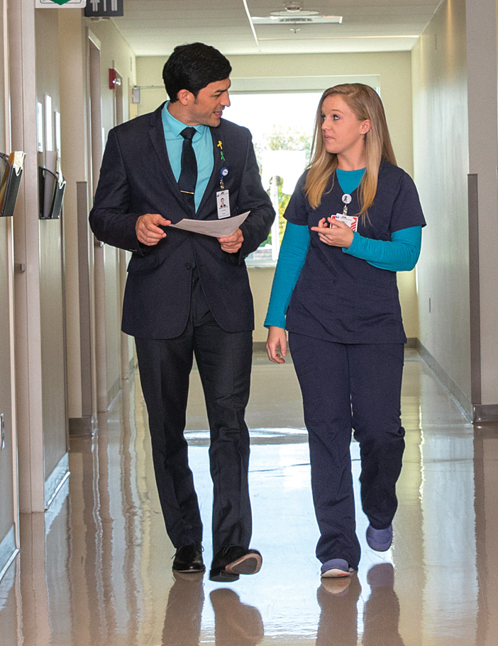 Gabriel Luna, MD and Alexis Tindall, COA